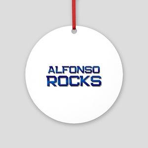 alfonso rocks Ornament (Round)
