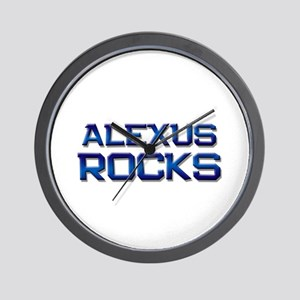 alexus rocks Wall Clock