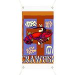 Crawfish Abstract Banner