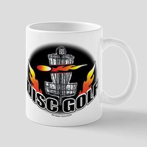 Flammin Disc Golf Mug