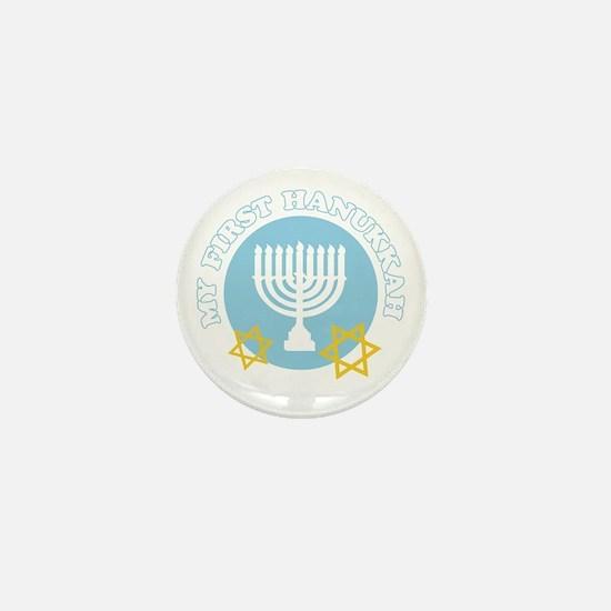 My First Hanukkah Mini Button