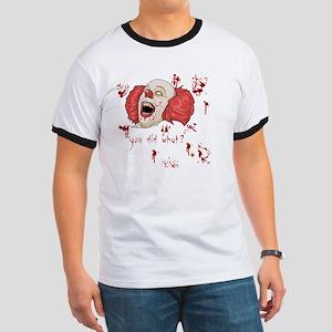 Evil Clown Ringer T