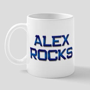 alex rocks Mug
