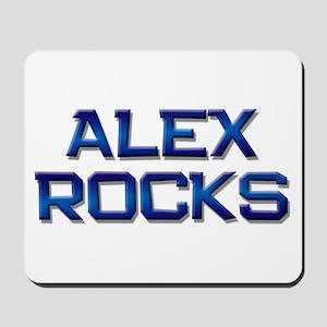 alex rocks Mousepad