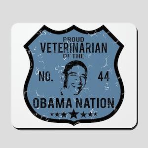 Veterinarian Obama Nation Mousepad
