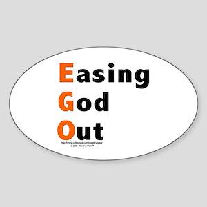 EGO Oval Sticker