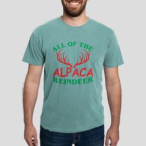All Of The Alpaca Reindeer Christmas Xmas T-Shirt