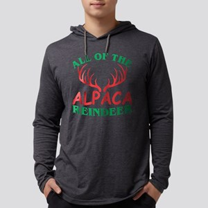 All Of The Alpaca Reindeer Chr Long Sleeve T-Shirt