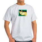 Cat Ash Grey T-Shirt