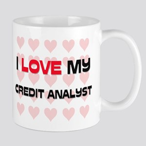 I Love My Credit Analyst Mug