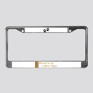 Proud To Be A Byron Tiger Ite License Plate Frame