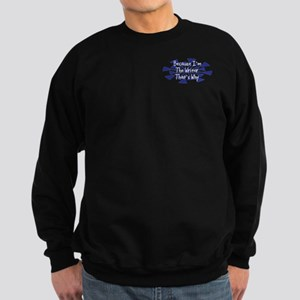 Because Writer Sweatshirt (dark)
