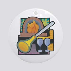 Glass Blowing Ornament (Round)