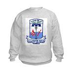 USS MARVIN SHIELDS Kids Sweatshirt