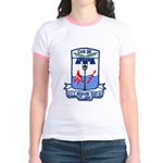 USS MARVIN SHIELDS Jr. Ringer T-Shirt