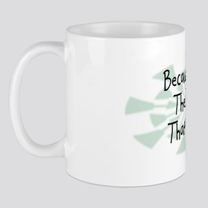 Because TVI Mug