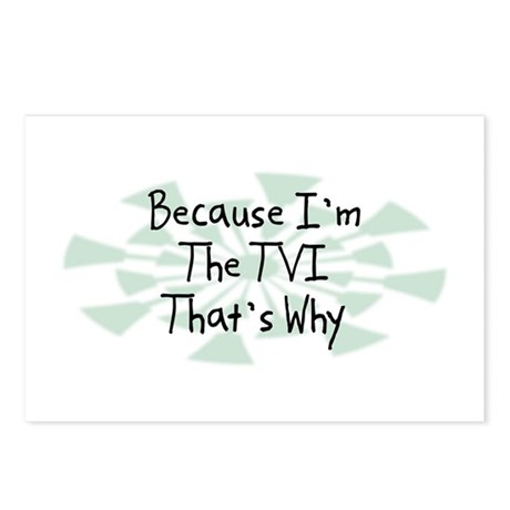 Because TVI Postcards (Package of 8)