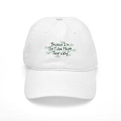 Because Tuba Player Baseball Cap