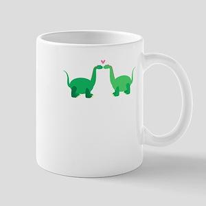 Dinosaurs In Love Mugs