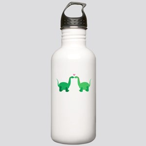 Dinosaurs In Love Stainless Water Bottle 1.0L
