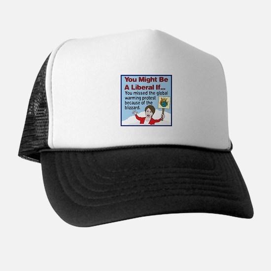 Nancy Pelosi Missed The Globa Trucker Hat