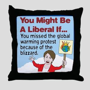 Nancy Pelosi Missed The Globa Throw Pillow