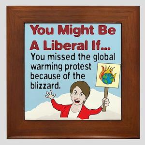 Nancy Pelosi Missed The Globa Framed Tile