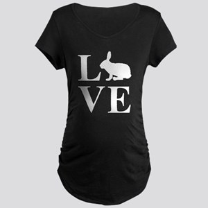Love Rabbits Maternity T-Shirt