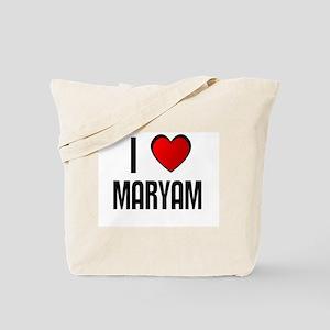I LOVE MARYAM Tote Bag
