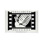 Rectangle Magnet (10 pack) (black-on-white)