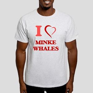 I Love Minke Whales T-Shirt