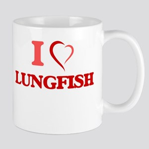 I Love Lungfish Mugs