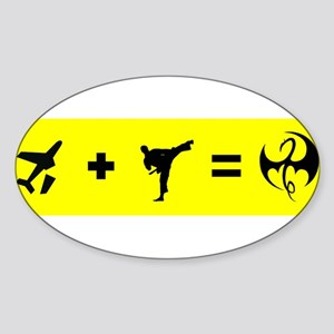 Formula To Become The Iron Fist Sticker