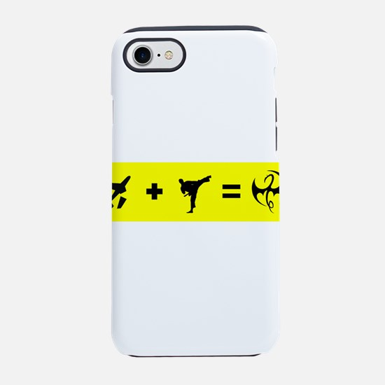 Formula To Become The Iron Fis iPhone 7 Tough Case