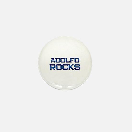 adolfo rocks Mini Button