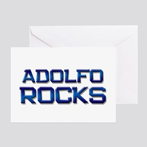 adolfo rocks Greeting Card