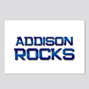 addison rocks Postcards (Package of 8)