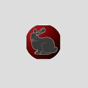 Crimson Death Bunny Mini Button