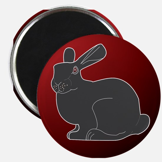 Crimson Death Bunny Magnet