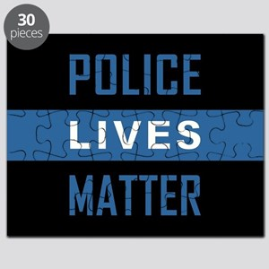 POLICE LIVES MATTER Puzzle