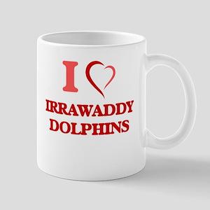 I Love Irrawaddy Dolphins Mugs