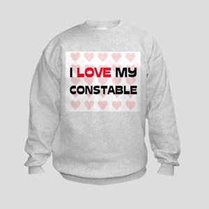 I Love My Constable Kids Sweatshirt