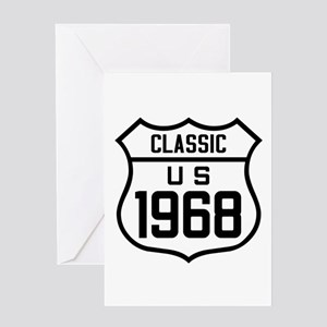 Classic US 1968 Greeting Cards