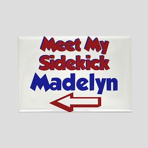 Madelyn's Sidekick (Left) Rectangle Magnet