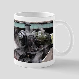 Vintage Steam Engine Mugs