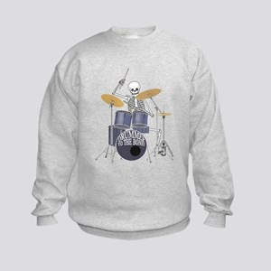 Bone Drummer Kids Sweatshirt