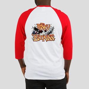 RisKy BizNiSS - Baseball Jersey Front and Back