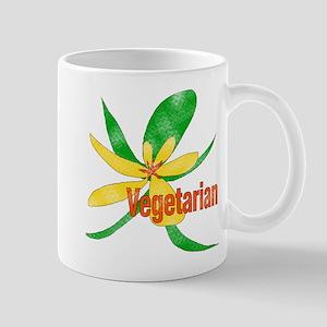 Vegetarian Flower Mug