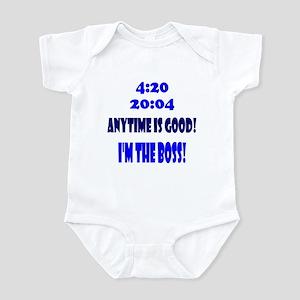 4:20 20:04 Anytime is good! I Infant Bodysuit
