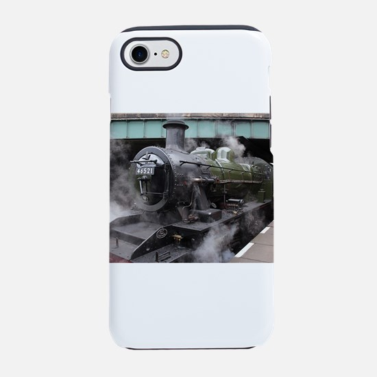 Vintage Steam Engine iPhone 7 Tough Case